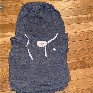 Abercrombie Long Sleeve Hooded Shirt